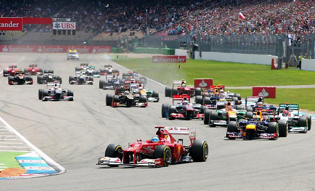 Фернандо Алонсо победил на Гран-при Германии. Фото 2