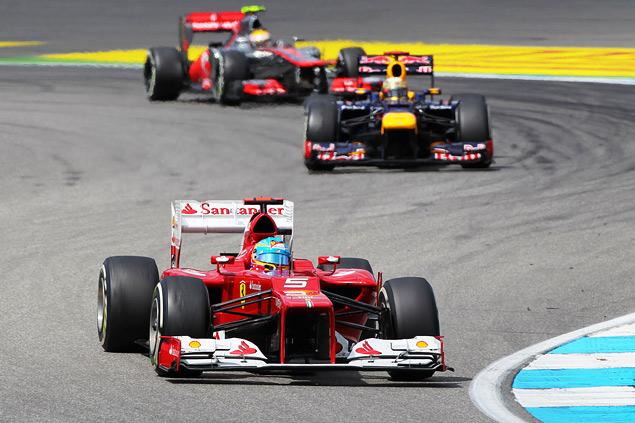Фернандо Алонсо победил на Гран-при Германии. Фото 3