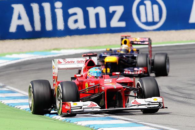Фернандо Алонсо победил на Гран-при Германии. Фото 5