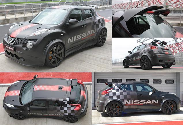 Гоняем на Nissan GT-R и Nissan Juke-R по трассе Moscow Raceway
