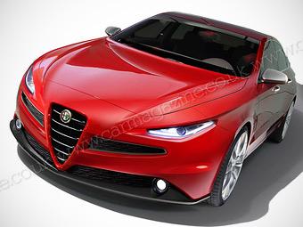 Журналисты раздобыли подробности о преемнике Alfa Romeo 159