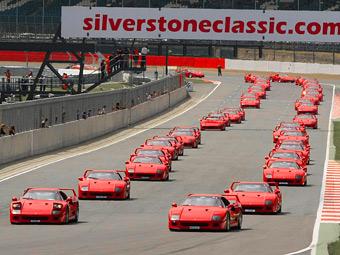 В Великобритании собрали вместе рекордное число суперкаров Ferrari F40