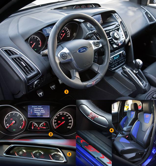Тестируем хот-хэтч Ford Focus ST нового поколения. Фото 2