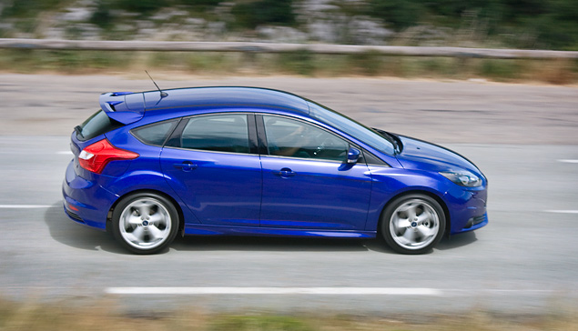 Тестируем хот-хэтч Ford Focus ST нового поколения. Фото 5