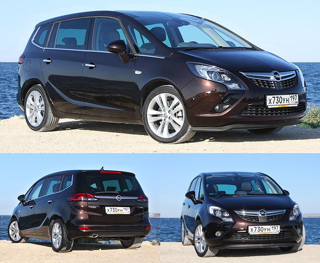 Проверяем Opel Zafira Tourer на готовность к длинным поездкам