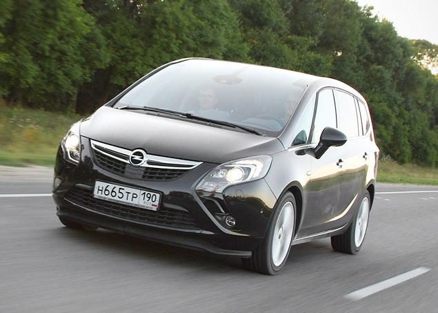 Проверяем Opel Zafira Tourer на готовность к длинным поездкам. Фото 1
