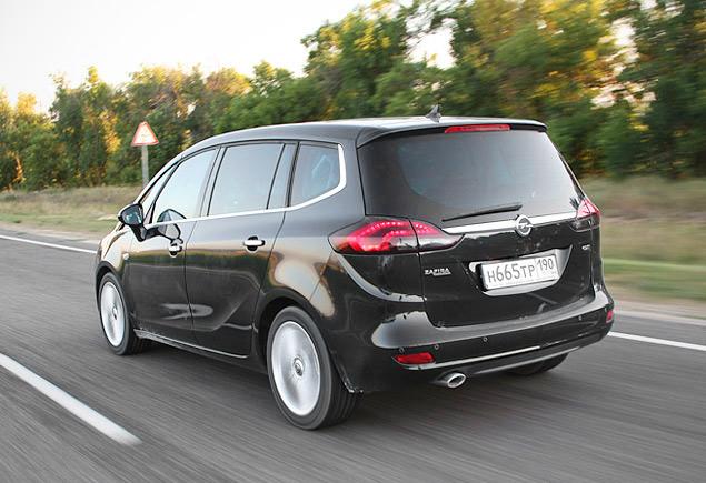 Проверяем Opel Zafira Tourer на готовность к длинным поездкам. Фото 2
