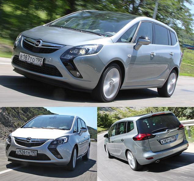 Проверяем Opel Zafira Tourer на готовность к длинным поездкам. Фото 3