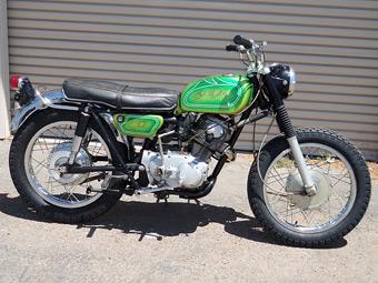 Случайно найденный мотоцикл Джима Моррисона выставили на продажу