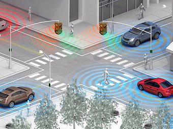 GM защитит пешеходов от наездов при помощи смартфонов