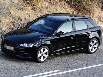 Фотошпионы заметили пятидверный вариант Audi A3