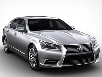 Lexus представил новый флагманский седан