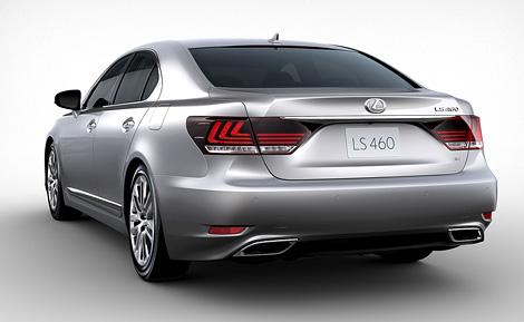 В Америке прошла мировая премьера глубоко модернизированного Lexus LS