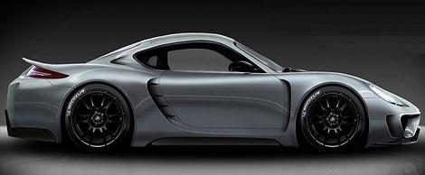 Компания Alpha-N Performance построит суперкар на базе купе Porsche Cayman