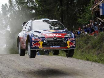 Себастьен Леб в третий раз выиграл Ралли Финляндии