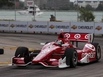 """Скотт Диксон выиграл гонку INDYCAR на трассе """"Мид-Огайо"""""""