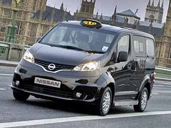 Nissan предложил заменить лондонские кэбы своими компактвэнами