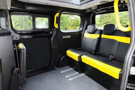 Компактвэн NV200 получит сертификат лондонского такси к концу года. Фото 1
