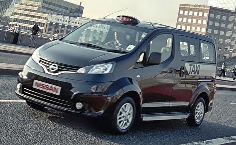Компактвэн NV200 получит сертификат лондонского такси к концу года. Фото 3