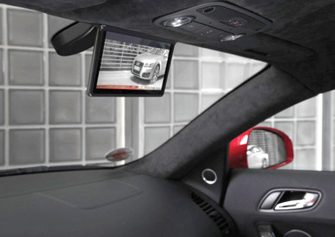 Зеркало заднего вида на купе R8 e-tron заменят 7,7-дюймовым экраном. Фото 1