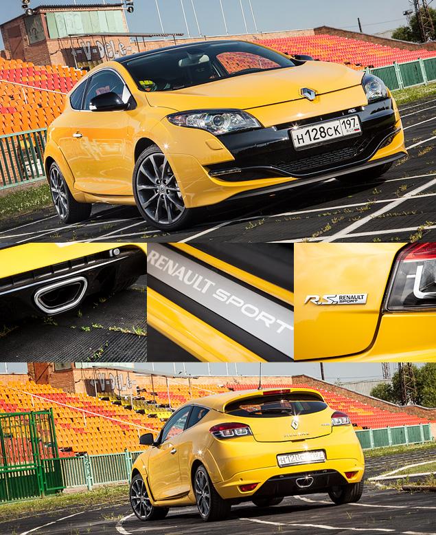 Renault Megane RS против VW Golf GTI 35 Edition. Фото 1
