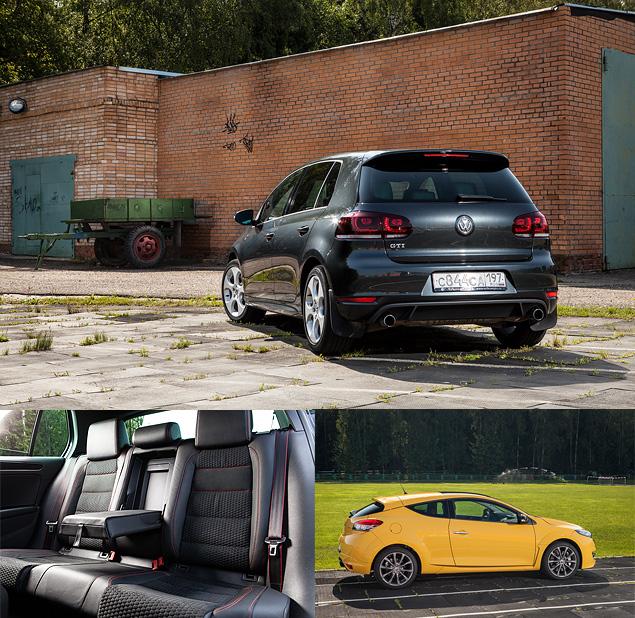 Renault Megane RS против VW Golf GTI 35 Edition. Фото 4