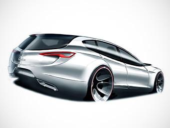 Дизайнеры Alfa Romeo поделились рисунками новой модели