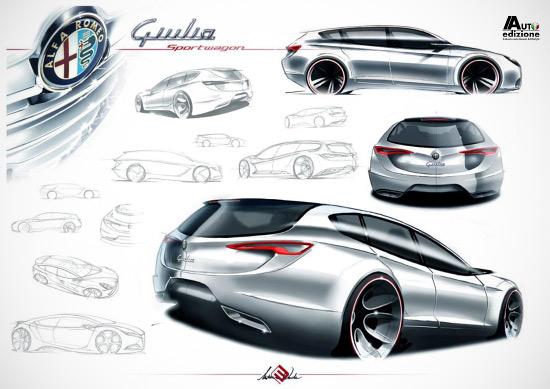 Появились изображения преемника Alfa Romeo 159