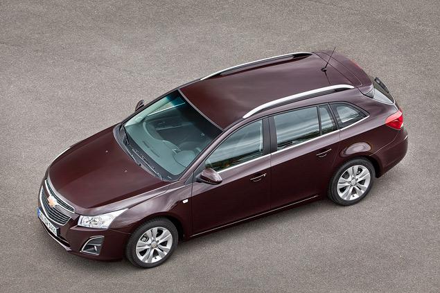 Тест-драйв Chevrolet Cruze в кузове универсал