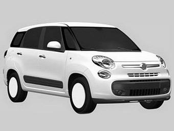 Fiat выпустит семиместную версию компактвэна 500L
