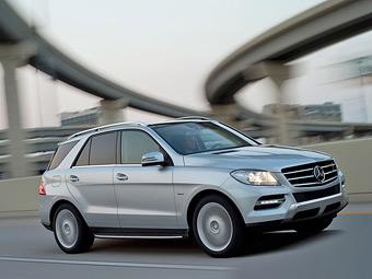 Компания Mercedes-Benz отзовет 11 тысяч ковриков M-Class