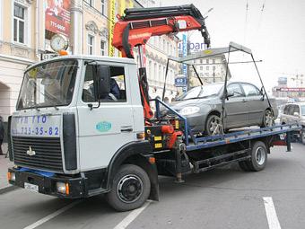 Москва установила стоимость хранения автомобиля на штрафстоянке