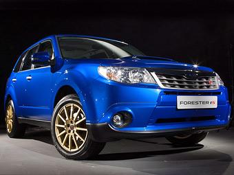 """В России Subaru будет продавать """"заряженный"""" Forester через свой сайт"""