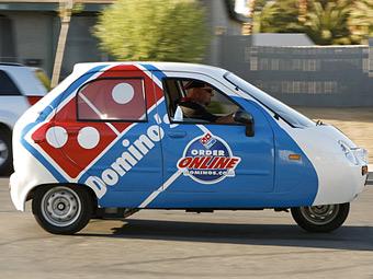 В США объявили конкурс на разработку пиццамобиля