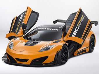 McLaren подготовил суперкар MP4-12C для американских гонок