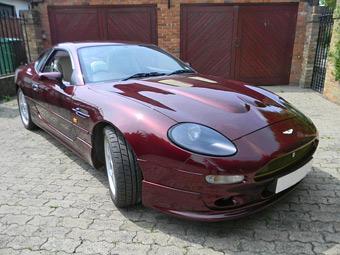 Единственный в своем роде суперкар Aston Martin DB7 уйдет с молотка