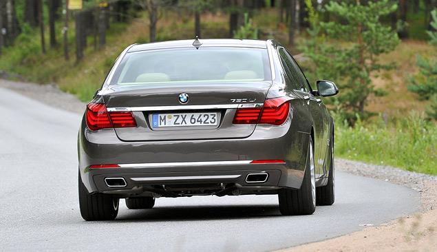 Тест-драйв «пропатченного» BMW 7-Series. Фото 7