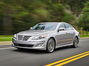 Компания Hyundai обновила седан Genesis