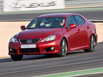 Новый Lexus IS-F сменит атмосферник на турбомотор