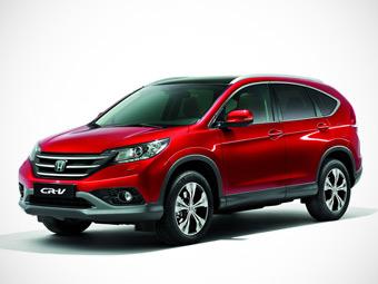 Новый Honda CR-V появится в России в ноябре