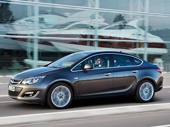 Выпуск нового седана Opel Astra начнется в России до конца года