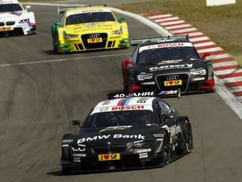 Бруно Спенглер принес BMW вторую победу в серии DTM