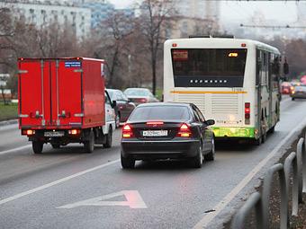 Москва лишится девяти выделенных полос