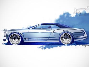 Bentley превратит свой флагман в кабриолет