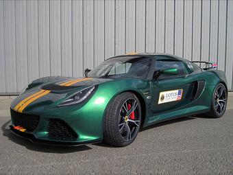 Компания Lotus подготовила купе Exige для трек-дней и гонок