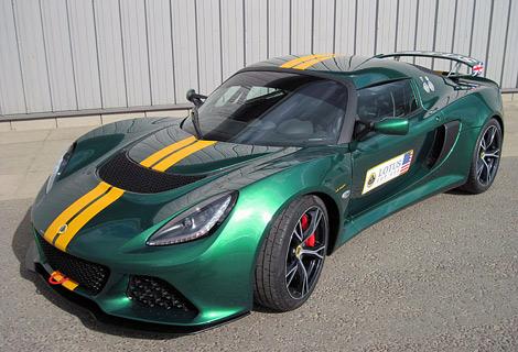 На гоночной трассе Брэндс-Хэтч представили трековую модификацию 350-сильного спорткара. Фото 1