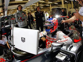 McLaren поделился с британскими врачами телеметрией Формулы-1