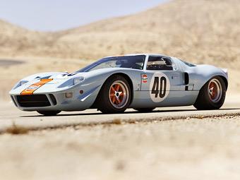 Гоночный Ford GT40 установил рекорд стоимости