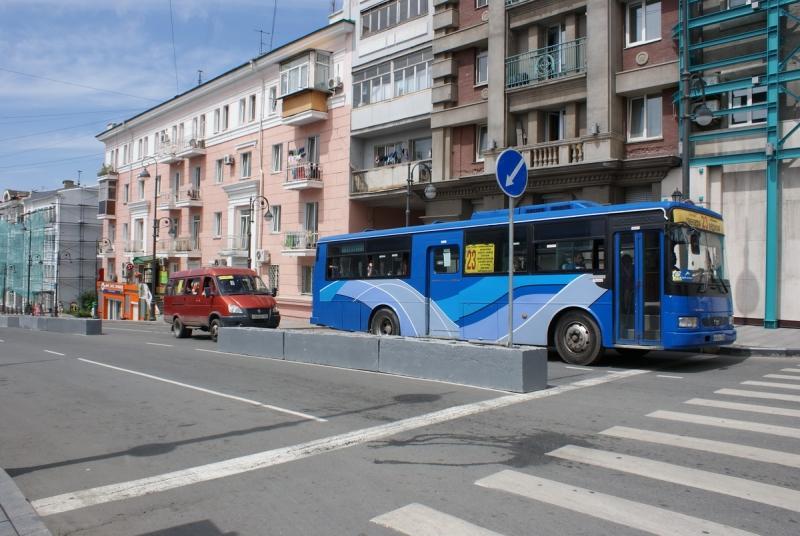В России появились дороги с левосторонним движением