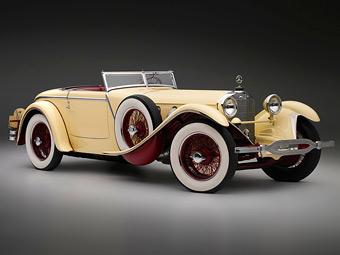 Mercedes-Benz 1928 года победил на американском Конкурсе элегантности